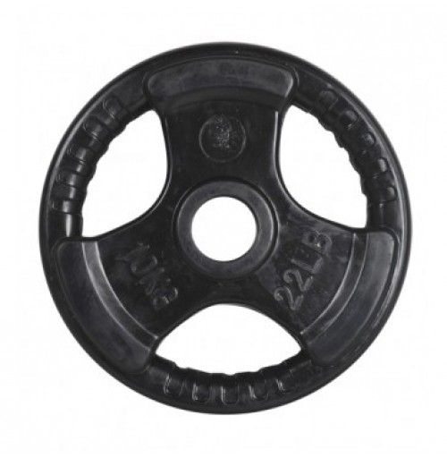 10kg   Rubber Coated Olympic Weights