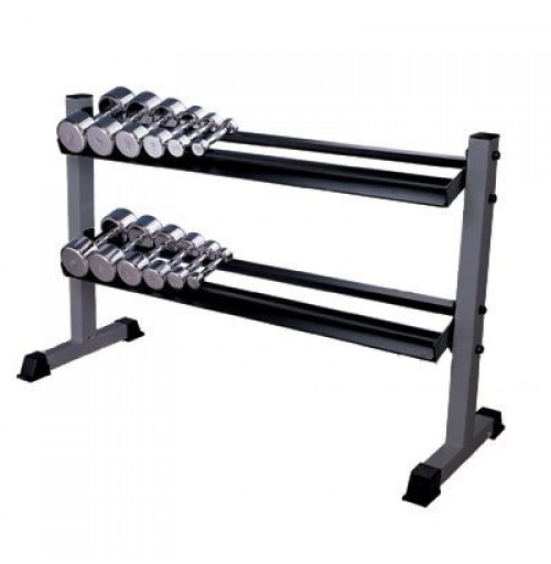2 Tier Dumbell Rack Heavy Duty