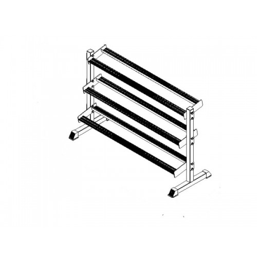 3 Tier Dumbell Rack Heavy Duty