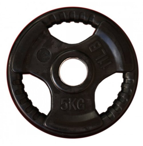 5kg   Rubber Coated Olympic Weights