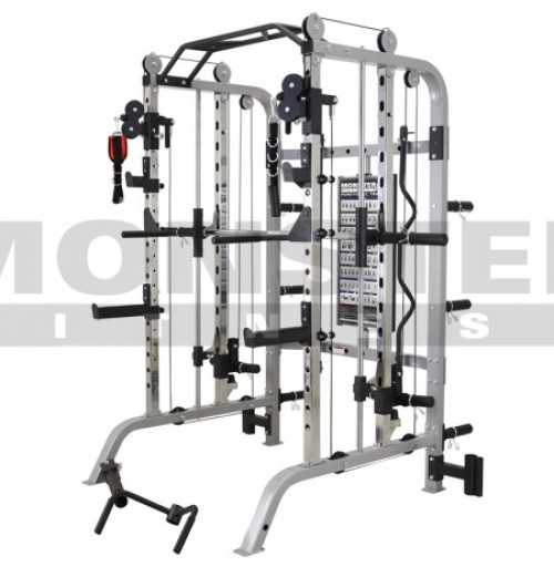 Monster Fitness G3 Functional Trainer, Rack, Smith, Chin, Core Combo