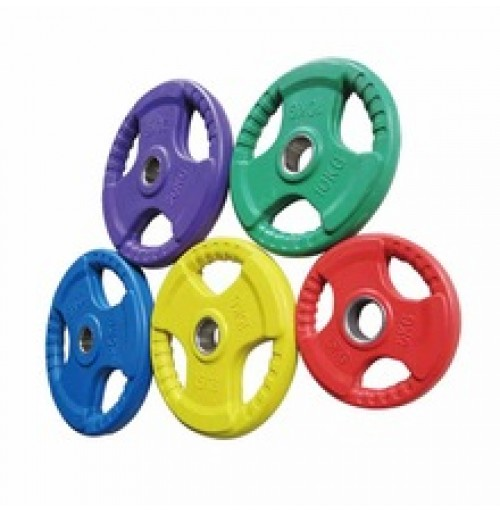 Colored Rubber Coated Weight Plates