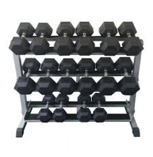 10kg-30kg Rubber Hex Dumbell Package