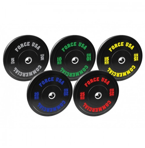 Force USA Bumper Plate Package 120kg