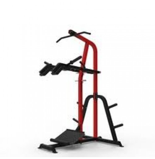 Leverage Squat / Calf Raise Machine With Chin Up Bar