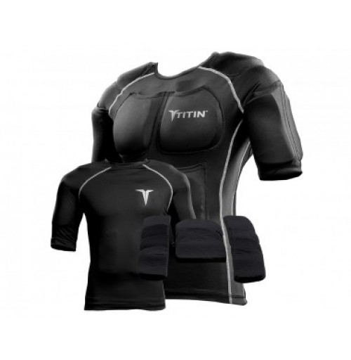 TITIN 8lb Weighted Compression Shirt System